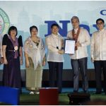 SDO NAVOTAS LAUDS CITY GOVERNMENT FOR BAGGING  SEAL OF GOOD LOCAL GOVERNANCE