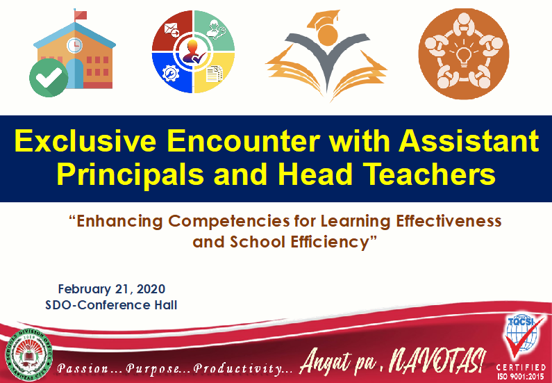 EXCLUSIVE ENCOUNTER WITH ASSISTANT PRINCIPALS AND HEAD TEACHERS