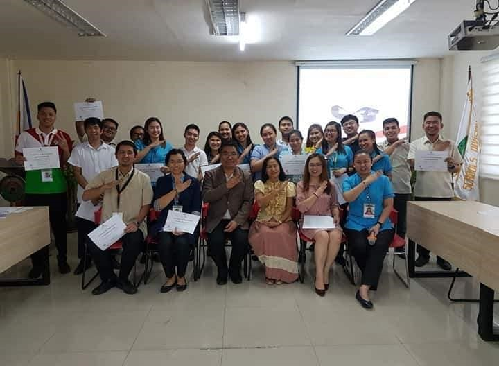 SDO NAVOTAS INDUCTS THE NEWLY HIRED NON-TEACHING PERSONNEL