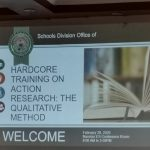 HARDCORE TRAINING ON ACTION RESEARCH: THE QUALITATIVE METHOD
